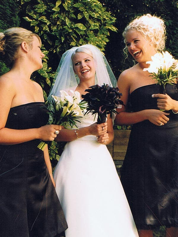 Black Strapless Bridemaid Dresses