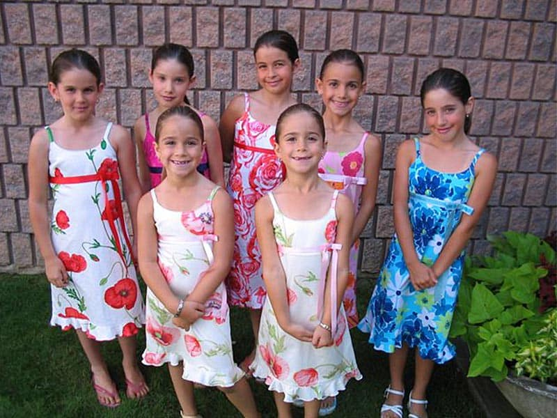 Cotton Floral Flower Girl Dresses