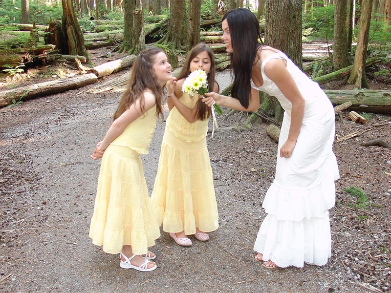 Yellow Swiss Dot Flower Girl Dresses